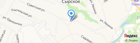 Фельдшерско-акушерский пункт на карте Сырского
