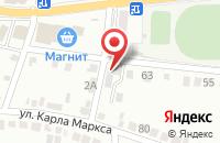 Схема проезда до компании Русь в Россоши