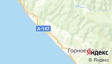Отели города Детляжка на карте