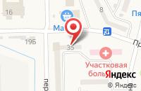 Схема проезда до компании Тара в Кулешовке