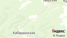 Гостиницы города Лесогорская на карте
