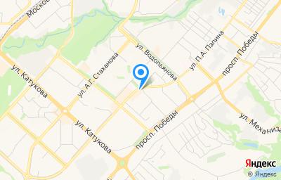 Местоположение на карте пункта техосмотра по адресу г Липецк, ул им. Генерала Меркулова, д 31А, пом 4