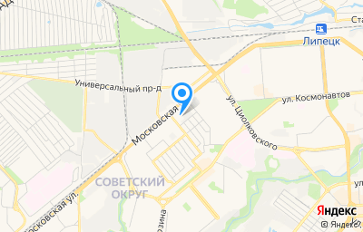 Местоположение на карте пункта техосмотра по адресу г Липецк, ул Пестеля, д 36, пом 3