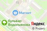 Схема проезда до компании Магазин косметики в Липецке