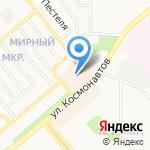 Ярослава на карте Липецка