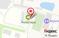 Схема проезда до компании Авангард в Тюшево