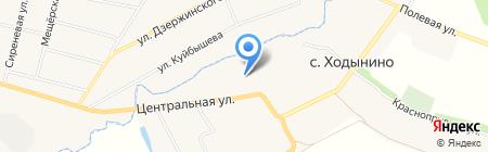Администрация Ходынинского сельского поселения на карте Ходынино