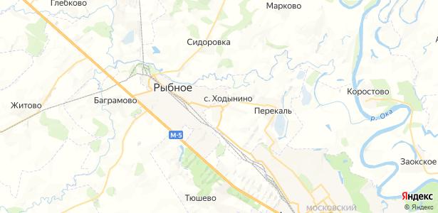 Ходынино на карте