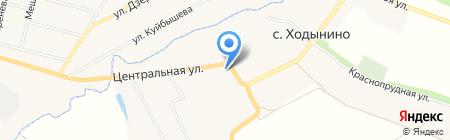 Колхоз им. Куйбышева на карте Ходынино