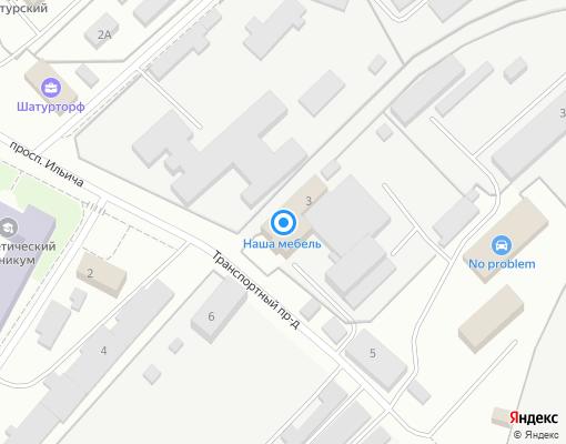 Управляющая компания «НАШ ДОМ» на карте Шатуры
