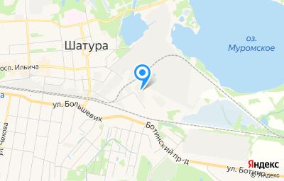 Местоположение на карте пункта техосмотра по адресу Московская обл, г Шатура, проезд Транспортный, д 1