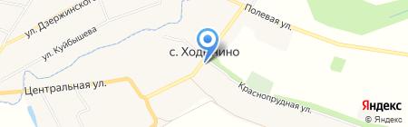Почтовое отделение на карте Ходынино