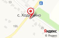 Схема проезда до компании Почтовое отделение в Ходынино