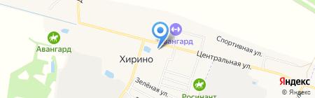 Банкомат Россельхозбанк на карте Хирино