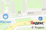 Схема проезда до компании Чернышевой в Липецке