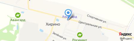 Продуктовый магазин на карте Хирино