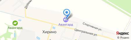 Хиринская сельская библиотека на карте Хирино