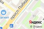 Схема проезда до компании Банкомат, Почта банк, ПАО в Липецке