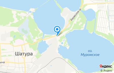 Местоположение на карте пункта техосмотра по адресу Московская обл, г Шатура, ул Кервское шоссе, д 1А
