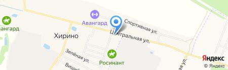 Продовольственный магазин на карте Хирино