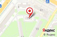 Схема проезда до компании Мир Прессы в Липецке