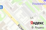 Схема проезда до компании РВЦ-Информ в Липецке