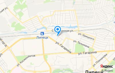 Местоположение на карте пункта техосмотра по адресу г Липецк, пер Попова, д 5, пом 1