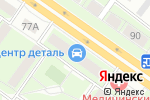 Схема проезда до компании Спутник-Липецк в Липецке