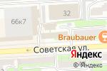 Схема проезда до компании Строительное Управление 48 в Липецке