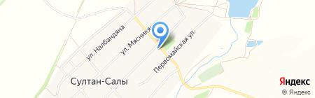 Продуктовый магазин на ул. Селивёрстова на карте Султана-Салов