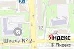 Схема проезда до компании Магазин кондитерских изделий в Липецке