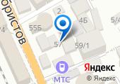 Оливир на карте