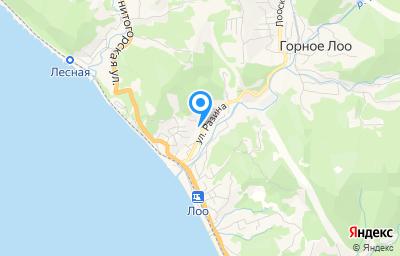 Местоположение на карте пункта техосмотра по адресу Краснодарский край, г Сочи, ул Разина, д 17/3