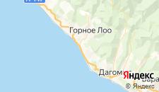 Отели города Лоо на карте