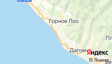 Гостиницы города Лоо на карте