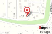 Схема проезда до компании ПОСЁЛОК ОЗЁРНЫЙ в Озёрном