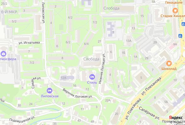 жилой комплекс Слобода
