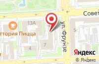 Схема проезда до компании Информационное Агентство «Новый Мир - Липецк» в Липецке