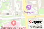 Схема проезда до компании Союз театральных деятелей РФ в Липецке