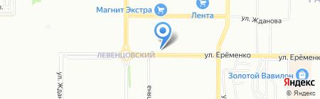 Продукты №1 на карте Ростова-на-Дону