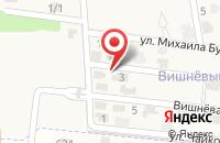 Схема проезда до компании Вишнёвый сад в Ленинаване