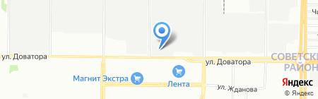ТЭС на карте Ростова-на-Дону