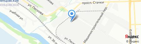 Движение на карте Ростова-на-Дону