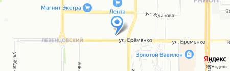 Мебель 161 на карте Ростова-на-Дону