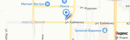Домалстк на карте Ростова-на-Дону