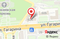 Схема проезда до компании МегаФон в Жуковском