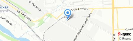 УСПЕХ на карте Ростова-на-Дону