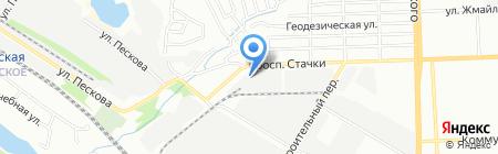 Владислава-Упак на карте Ростова-на-Дону