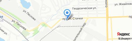 Аякс на карте Ростова-на-Дону