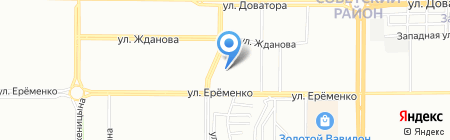 Банкомат АКБ МОСОБЛБАНК на карте Ростова-на-Дону